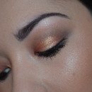 Copper/Gold Look