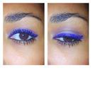 Blue eyeliner Inglot