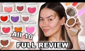 NEW** FENTY BEAUTY CREAM BLUSH & BRONZER REVIEW | Maryam Maquillage