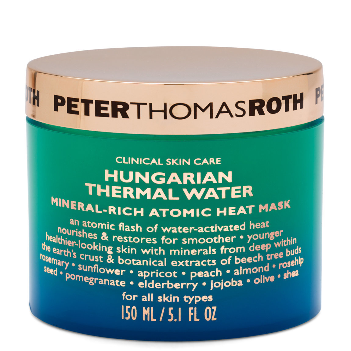 Peter Thomas Roth Hungarian Thermal Water Mineral-Rich Atomic Heat Mask product swatch.