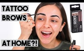 MAYBELLINE TATTOO BROW PEEL OFF TINT REVIEW - TrinaDuhra