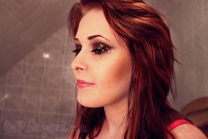 Anna Abreu ♥ Rush CD-Cover MakeUp 3