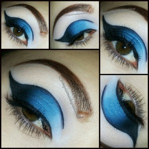 Trying out a different style @lovelylilmakupaddict