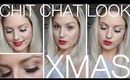 Chit Chat ♡ White Gold Christmas Look ♡ Quick & Easy