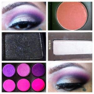 Pinks,purple& black