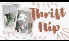 Thrift Flip Home Decor On a Budget | DIY Macrame Wall Mirrors & Planters
