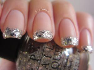 Glitter French Nails @gemsinabottle