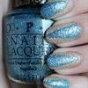 Scotch Tape Manicure Using OPI Tiffany Case & OPI Honey Ryder