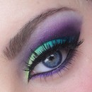 Blues, Purples and Greens