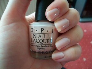 OPI Sweetheart Nail Polish  To read my review of the polish please visit my blog:  www.mazmakeup.blogspot.com