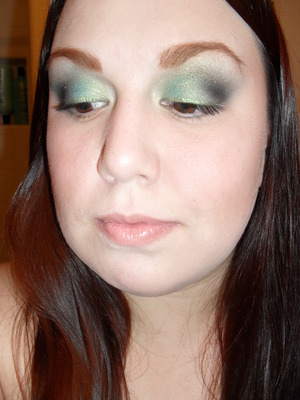 Kat Von D momento Mori palette, colors used: Tijuana,hard luck, peggy,and sugar skull