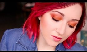 Project Runway Inspired Orange Smokey Eye [One Brand Tutorial- Avon]