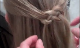 How to do an Infinity Sign or Infinity Braid in Your Hair