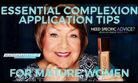 How to Color Match Foundation, use Color Correctors, and apply Foundation for mature women