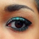 Makeup with eyeshadow Buxom