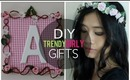 DIY: Trendy Girly Gifts (Cheap + Easy)