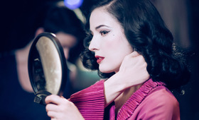 Exclusive Video: Dita Von Teese on Her New Perfume Line and Glamour vs. Beauty