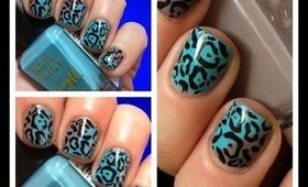 A montage of my nail art inc nail art stamping water marbelling