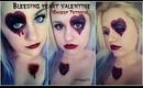 Bleeding Heart Valentine Makeup Tutorial