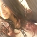 New hair! black and red (: but going blonde soon
