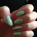 Mint Green and Silver :)