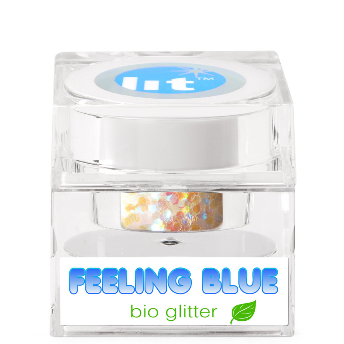 Lit Cosmetics Bio Glitter Feeling Blue alternative view 1.