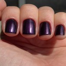 Purple glow red.