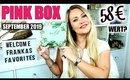 Pink Box September 2019 | UNBOXING & VERLOSUNG