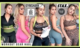 finally... a WORKOUT CLOTHING HAUL! 💪 Gymshark, Hine Collection, STAX. & more! 💕