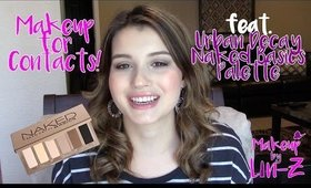 Makeup for Contact Lenses: Easy Makeup Tutorial for Contacts!