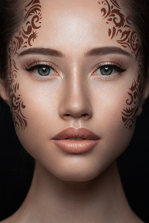 Make up/ Idea: Olga Blik Photographer and retoucher: Konstantin Klimin