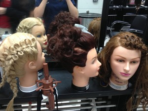 Hey guys well I am a young girl who just started a cosmetology classes and these are just some of my mannequins I have been working on please comment and tell me what you think I am looking for some feedback ..thanks a lot .. Please comment :) <3