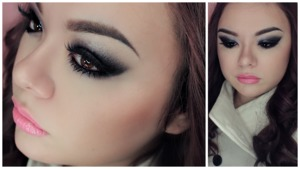 This was a smokey eyeliner makeup look in partnership with ELF cosmetics.  I quite liked the outcome of it.  Video of this look here: http://youtu.be/FXej8OdFwsc