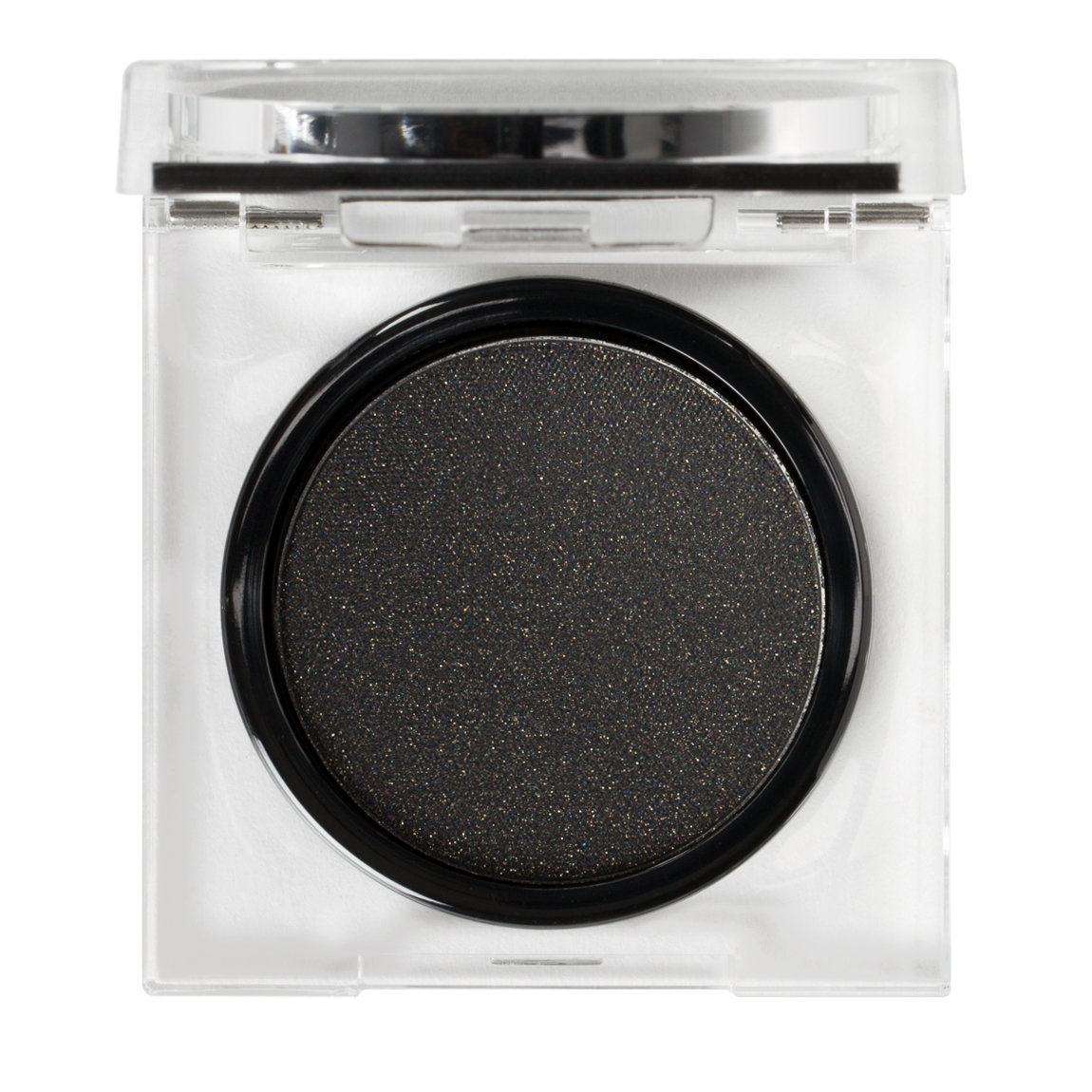 Natasha Denona Blackest Black Eyeshadow Gold Rush product smear.