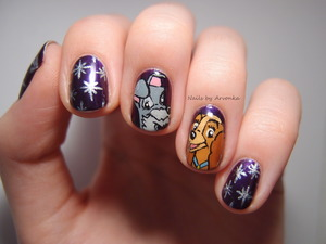 http://arvonka-nails.blogspot.sk/2013/12/lady-and-tramp.html