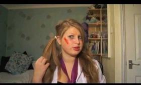 Halloween Tutorial: dead school girl !