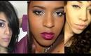 BH Cosmetics Giveaway + Collab w/ JustJasmine24 & OnebeautyAddict Dark Berry Lips + Bold Eyes