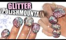 100+ Coats of GLITTER Nail Polish! | #PolishMountain