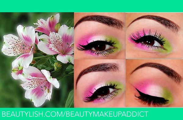 Flower Makeup Inspiration Simera H S Beautetude Photo