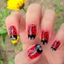Ladybug Nails #2