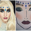 Illamasqua - The Sacred Hour inspired make-up