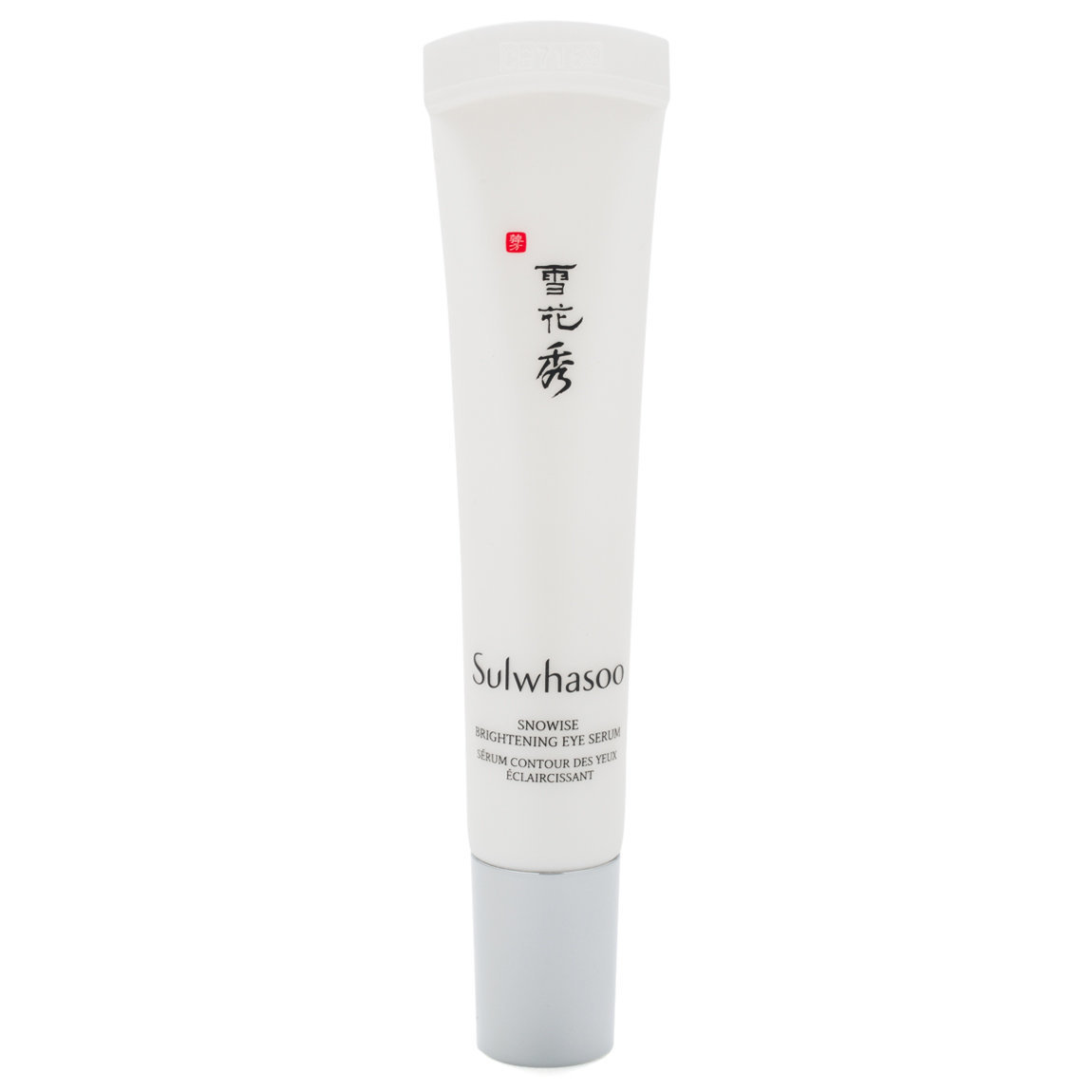 Sulwhasoo Snowise EX Brightening Eye Serum product smear.