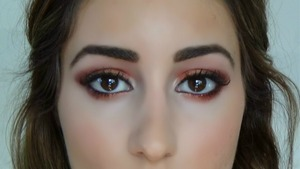 I did a tutorial on this look on my youtube page.  I love this look because it brings out all eye colors and makes them pop!
