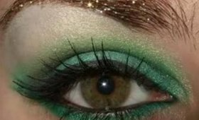 Forest Nymph Smoky Green eye makeup tutorial