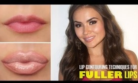 Lip Contouring Techniques for Fuller Lips