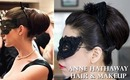 Anne Hathaway Catwoman's Updo & Makeup Tutorial