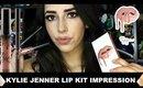 Kylie Jenner Lip Kit Candy K First Impressions