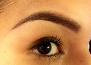 I love the feeling of clean brows ..! 👌👍