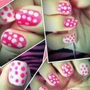 Pink Polk-A-dots