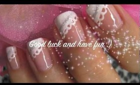 Valentines Lacy Nail Tutorial (Video)